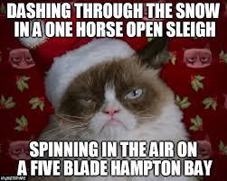 Grumpy Cat Snow Meme - grumpy cat christmas imgflip
