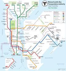 Boston Mbta Map Projects Doucett Net