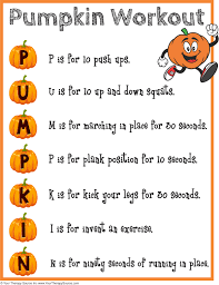 acrostic thanksgiving poem 16 free halloween printables sensory motor skills your therapy