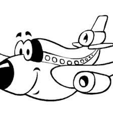 coloring airplane preschoolers archives mente