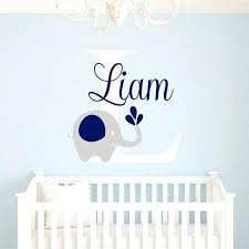 Wall Letter Decals For Nursery Awesome Sle Baby Name Wall Decals For Nursery Vynil