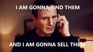 Taken Meme - how to quickly sell a mobile phone online wotpost