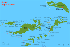 map of bvi and usvi geography of the islands