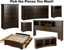 Espresso Bedroom Furniture by Bedroom Furniture Sets Ebay