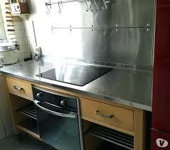 plaque inox cuisine ikea meuble cuisine inox brainukraine me