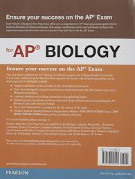 buy preparing for the biology ap exam edition pearson