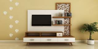 tv unit ideas modern lcd tv unit in bedroom with texture in small area