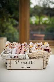 25 fun creative wedding exit send off ideas confetti cones