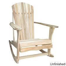adirondack acacia wood rocker chair free shipping today