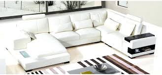 modern black and white leather sectional sofa modern leather sectional sofas goss2014 com