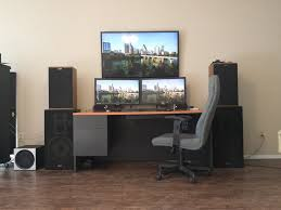 Desk Setup 285 Best Workspaces Images On Pinterest Desk Setup Office Setup