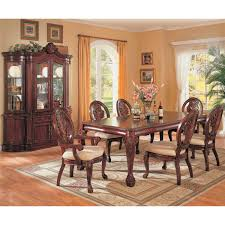 dining room set with china cabinet traditional china cabinet