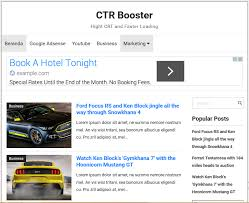 ctr booster adsense blogger template high ctr softdews