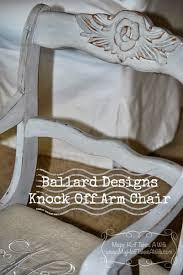 ballard designs casa florentina genoa arm chair knock off with