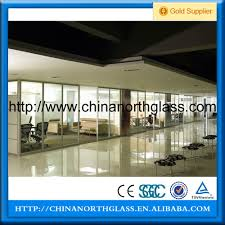 china big size cutting size tempered glass partition manufacturer