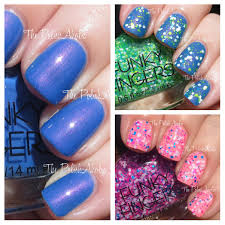 the polishaholic funky fingers nail polish swatches u0026 review