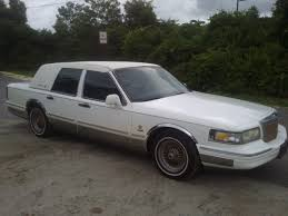for sale lincoln town car