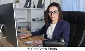 femme de bureau femme bureau haut ordre du jour bureau fin vidéos