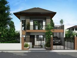 tiny modern home new modern two storey house plans modern house design