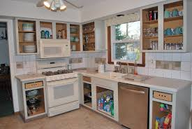 Painting Kitchen Cabinets Blue Painting Kitchen Cabinets White Before And After Pictures U2014 Decor