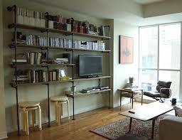 How To Make A Pipe Bookshelf Diy Shelves 5 Ways To Build Yours Bob Vila