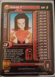 tcg android 1x z score nm foil gt tcg 17 saga android 17