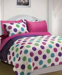 Polka Dot Bed Set Polka Dot Bedding Purple Comforter Comforter And
