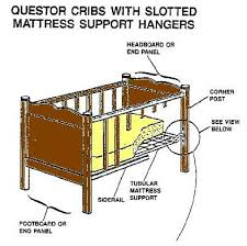 Baby Crib Mattress Support Questor Crib Brackets And Mattress Support Hangers To Be Replaced