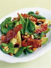 avocado pancetta u0026 pine nut salad jamie oliver food jamie