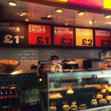 menu design at a train station coffee shop manchester uk imgur