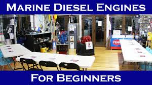marine diesel engines for beginners a one minute overview youtube