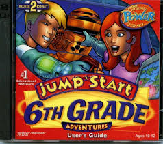 109 9965 jump start 6th grade adventures deluxe video game