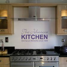 personalised kitchen wall sticker by nutmeg notonthehighstreet com