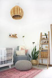 Nursery Decor Toronto Boho Chic S Nursery Reveal Chic Nursery Modern Boho And