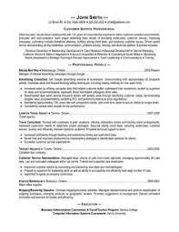 A resume template for a Customer Service Professional  You can download it and make it Pinterest