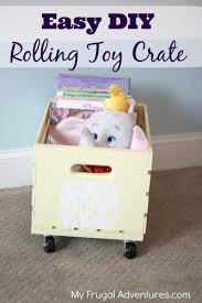 Easy Build Toy Box by Diy Custom Toy Box Pottery Barn Kids Inspired My Frugal Adventures