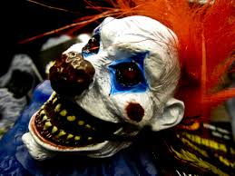 horror clown messed with the wrong kid and gets beat up thisthinline