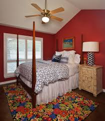 mary mcdonald bedroom traditional with mixed patterns bed skirt