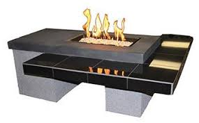 outdoor greatroom fire table outdoor great room uptown gas fire table