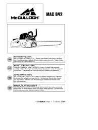 3 service manual mac 842 mac 842 9528021 87 carburetor