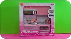 modern kitchen sets modern kitchen set modern mutfak oyuncak seti youtube