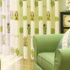 Light Green Curtains by Bright Curtains For Living Room Carameloffers