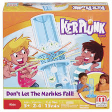 amazon com ker plunk game don u0027t let the marbles fall toys u0026 games