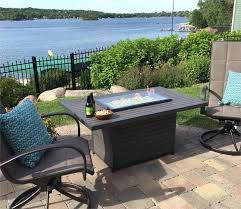 outdoor greatroom fire table fire pits mccready s hearth home