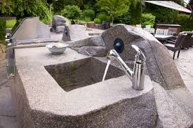 Portable Outdoor Kitchens - outdoor kitchen sinks kitchen outside kitchen ideas with black