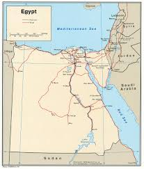 Map Of Egypt In Africa by Maps Of Egypt Map Library Maps Of The World