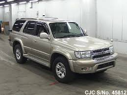 hilux surf car 2001 toyota hilux surf 4runner gold for sale stock no 45812