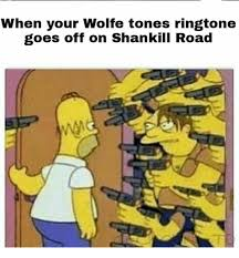 Meme Ringtones - when your wolfe tones ringtone goes off on shankill road ringtones