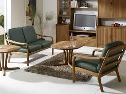 Wooden Sofa 1260 2 Seater Sofa By Dyrlund