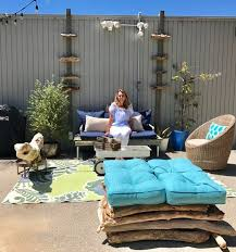 Diy Outdoor Living Spaces - creating an outdoor living space in malibu resident